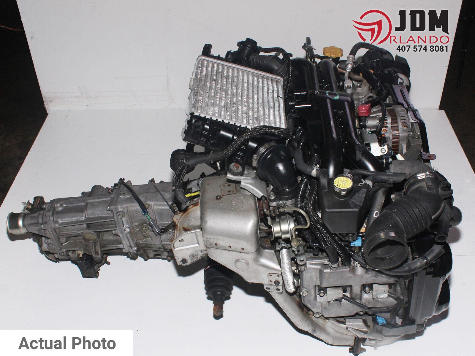 08 12 Subaru Impreza Wrx 2 0l Turbo Replacement Engine 5 Speed Trans Jdm Ej20y