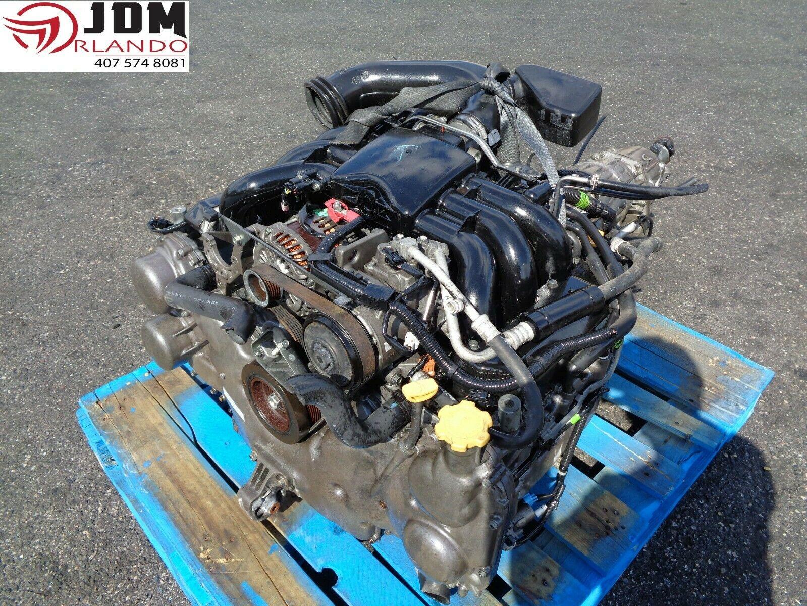 08-14 SUBARU TRIBECA 3 6L H6 BOXER ENGINE JDM EZ36D