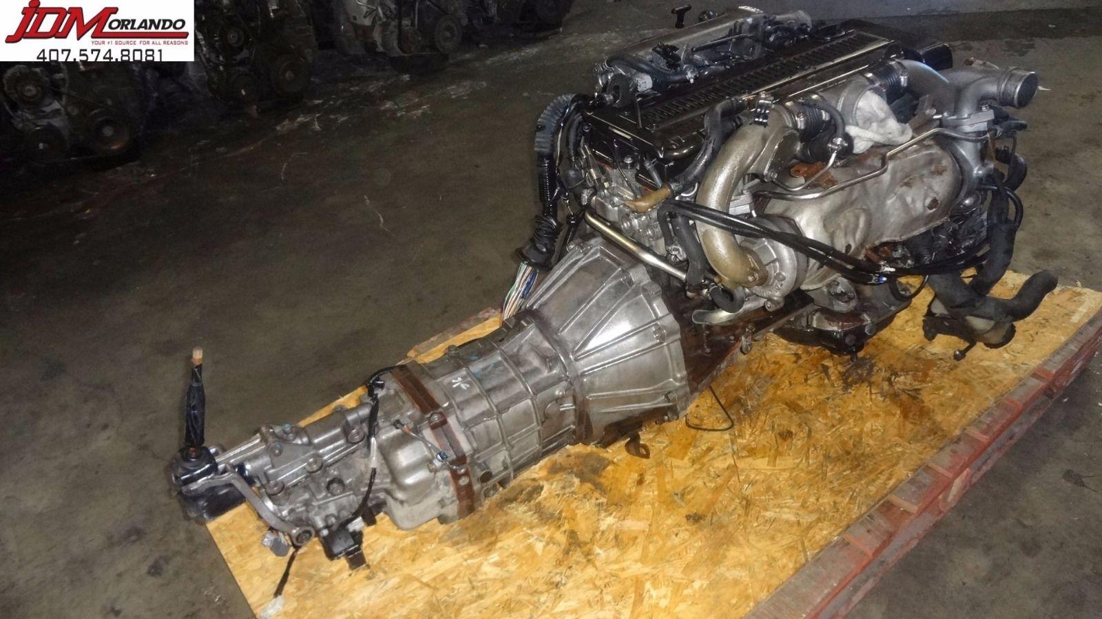 Toyota Chaser Jzx90 Twin Turbo Engine Manual Transmission Loom & Ecu JDM  1JZ-GTE