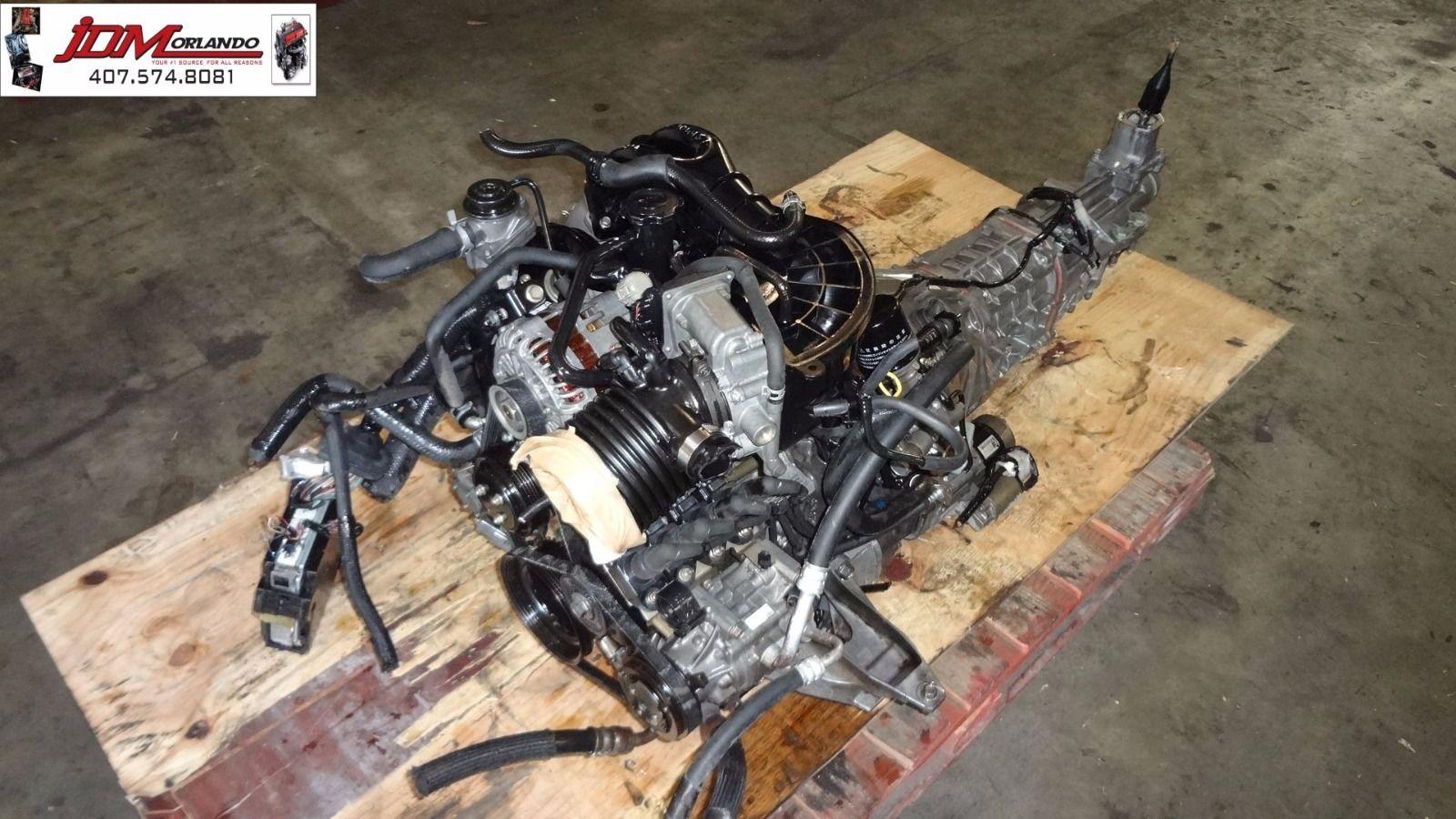 03-08 Mazda Rx8 1 3l 6 Port Rotary Manual Version Engine Loom & Ecu JDM 13B