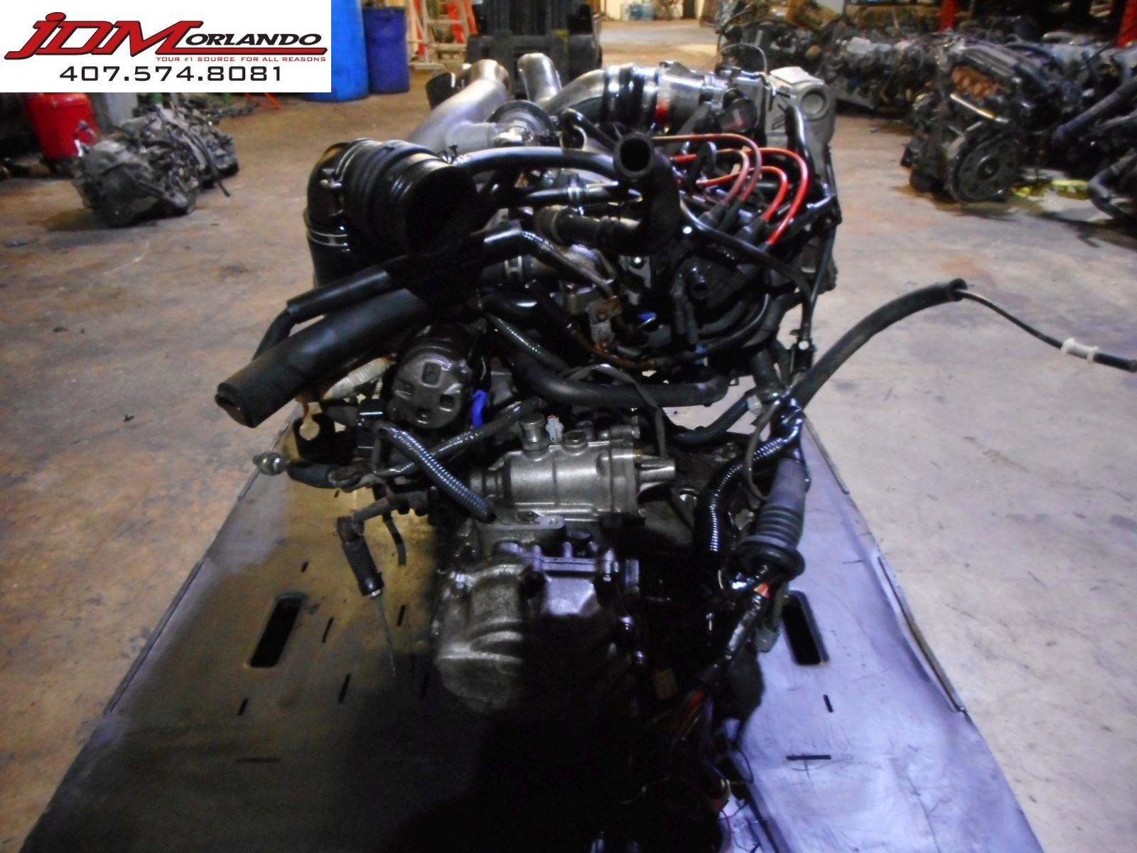 91-93 Toyota Mr2 2 0l Twin Cam Turbo Engine & Manual Transmission JDM 3S-GTE