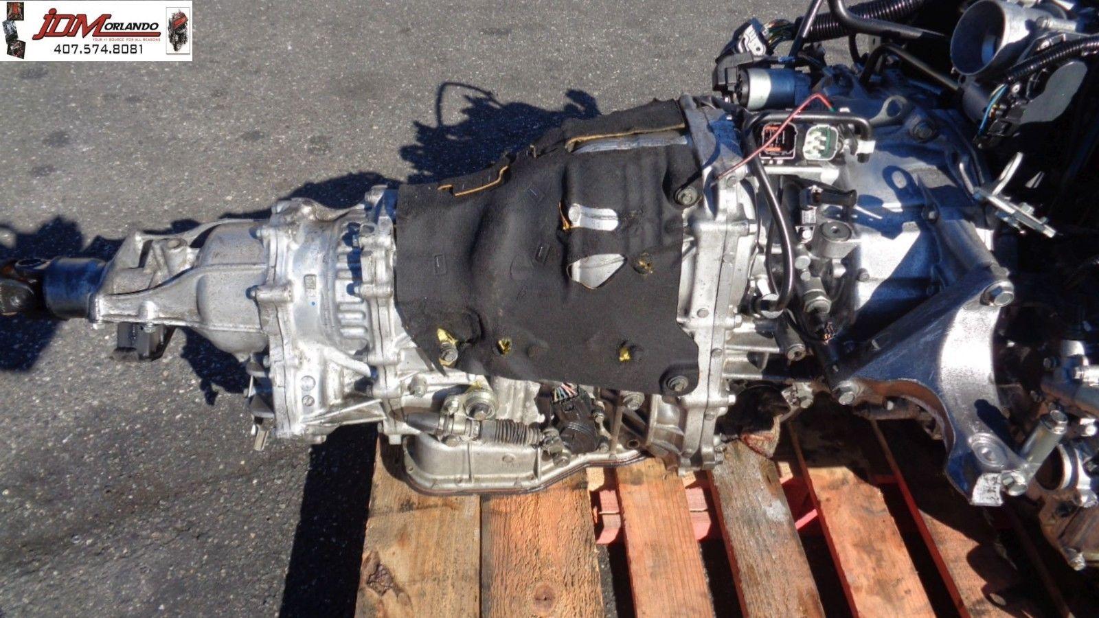 11-14 Subaru Outback 2 5l Cvt Transmission JDM TR690JHAAA