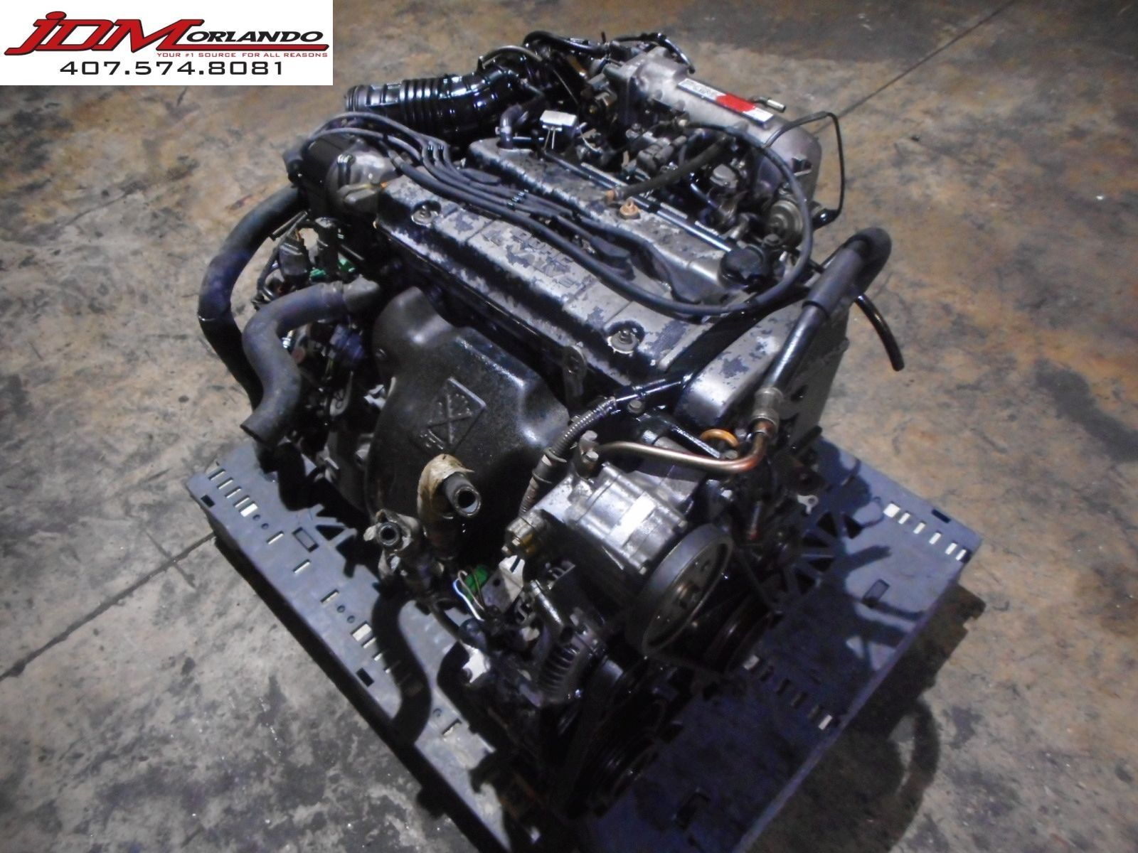 92-95 Honda Accord Prelude 2 3l Dohc Non Vtec Engine & Transmission JDM H23A