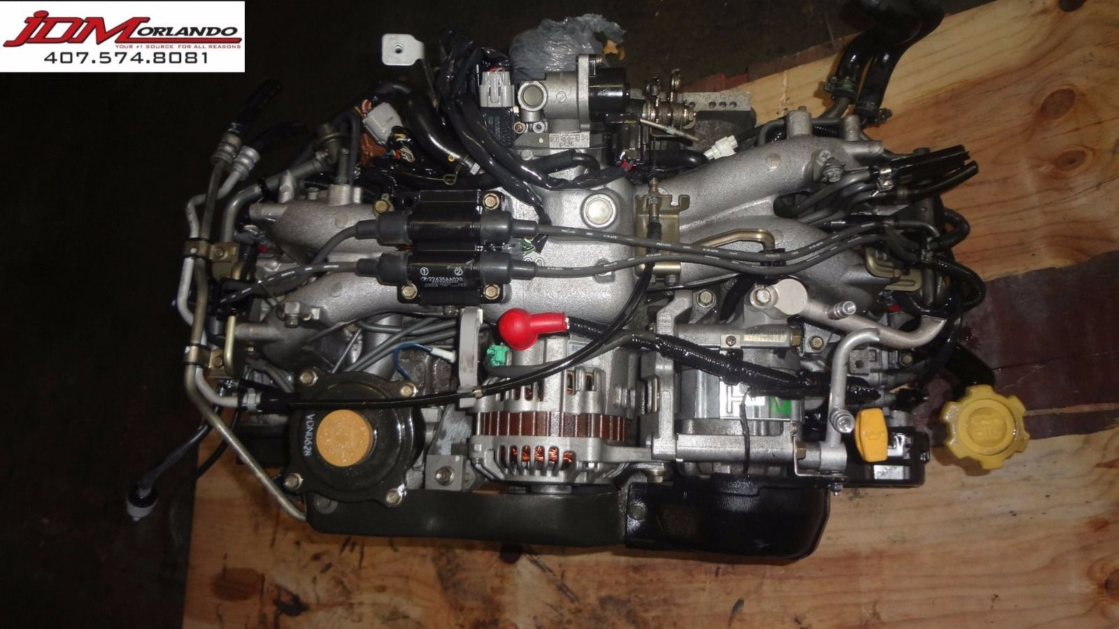 00-01 Subaru Outback 2 0l Sohc H4 Replacement Engine JDM EJ251 EJ201