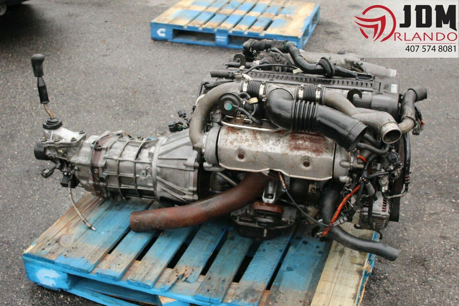 Toyota Supra 2 5L Twin Turbo Engine R154 Transmission Loom & ECU JDM 1JZ-GTE