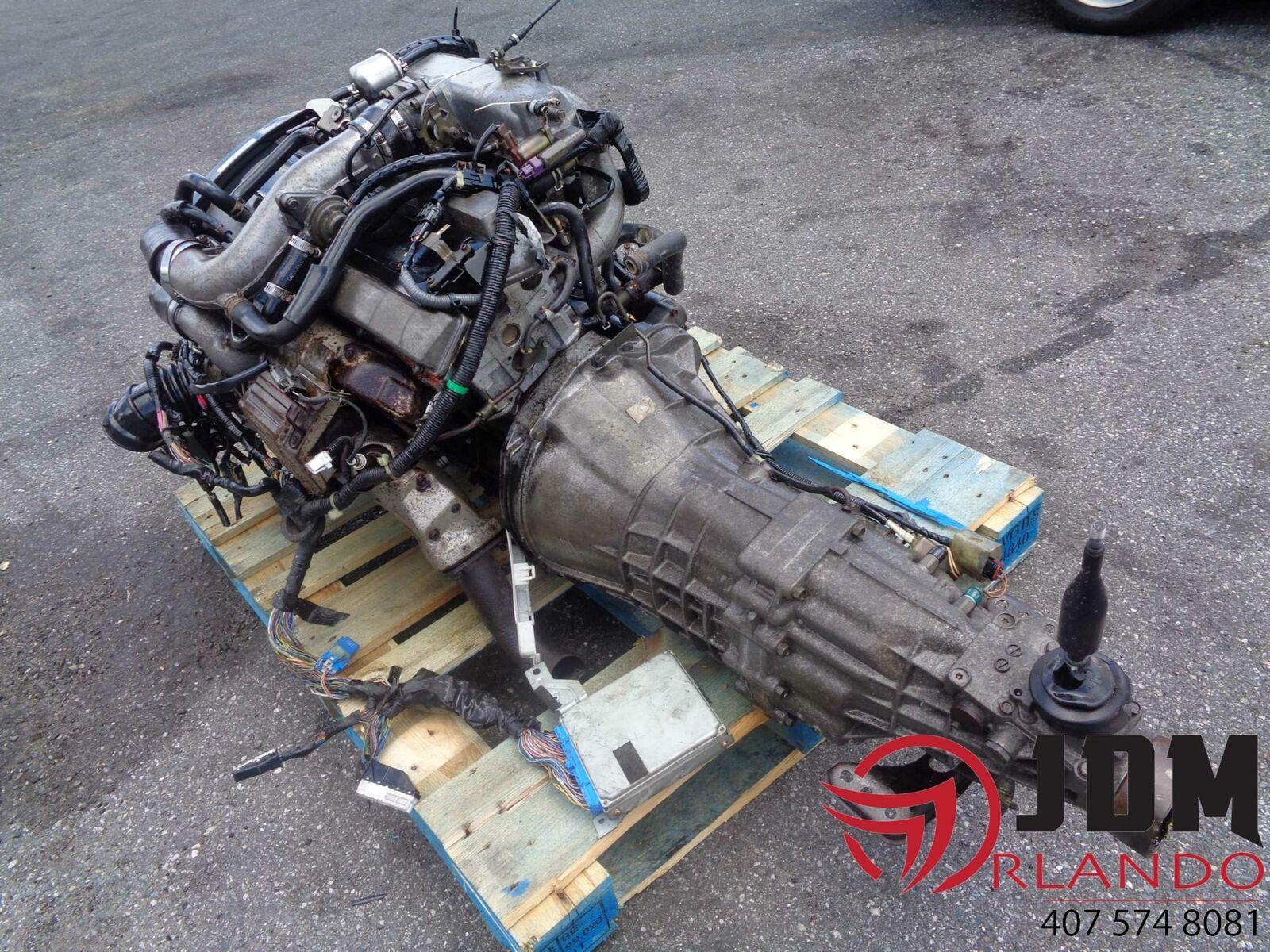 NISSAN SKYLINE R32 GTST 2 5L TURBO ENGINE MANUAL TRANS LOOM & ECU JDM  RB25DET S2