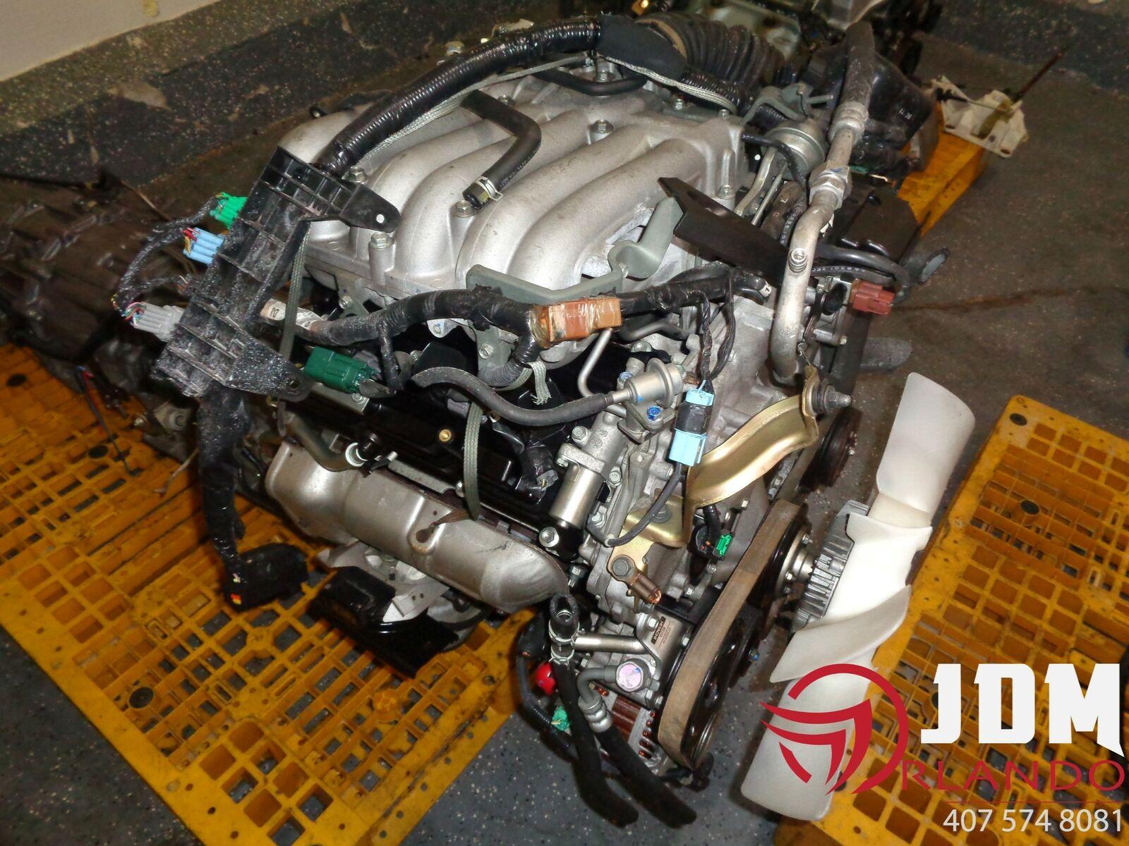 03 04 Nissan Pathfinder 3 5l V6 Engine Jdm Vq35de